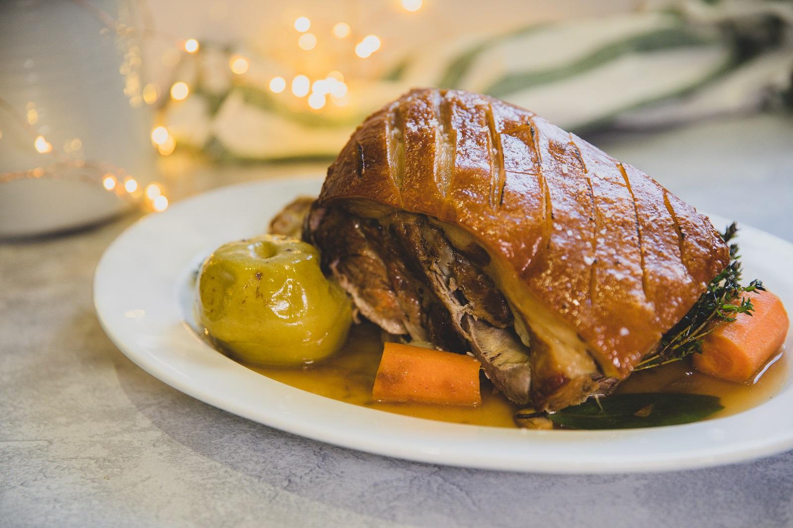 Justine Schofield's Otway Pork – Roasted Otway Pork Shoulder